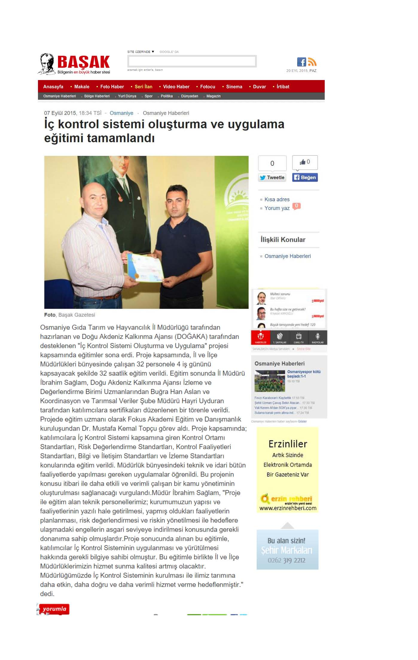 Osmaniye _içkontrol eğitimi 2015